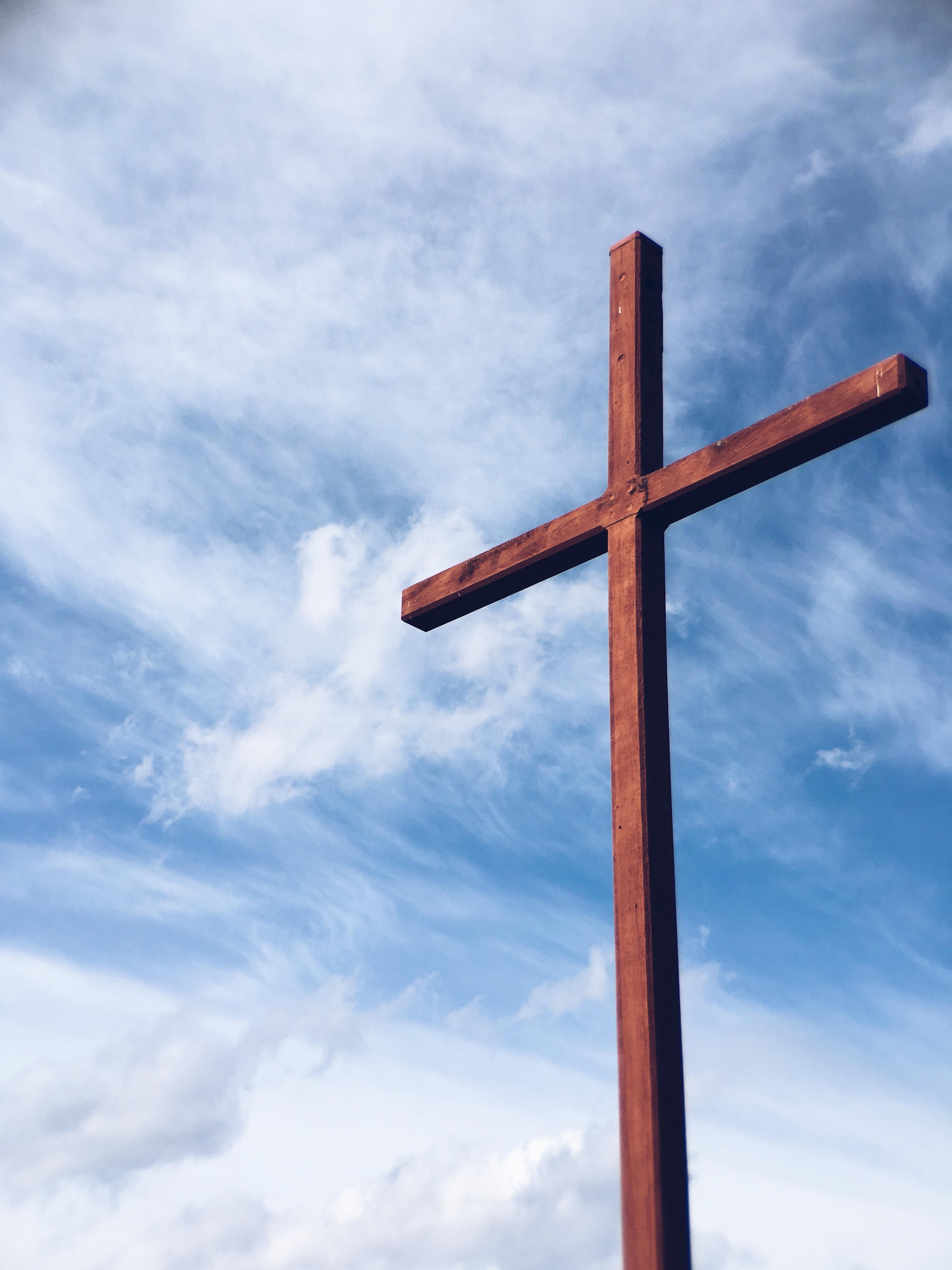 cross on sky